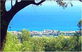 Adelianos Kampos: Blick von oben